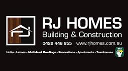 Sponsor – RJ Homes