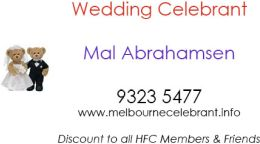 Sponsor – Wedding Celebrant – 9323 5477